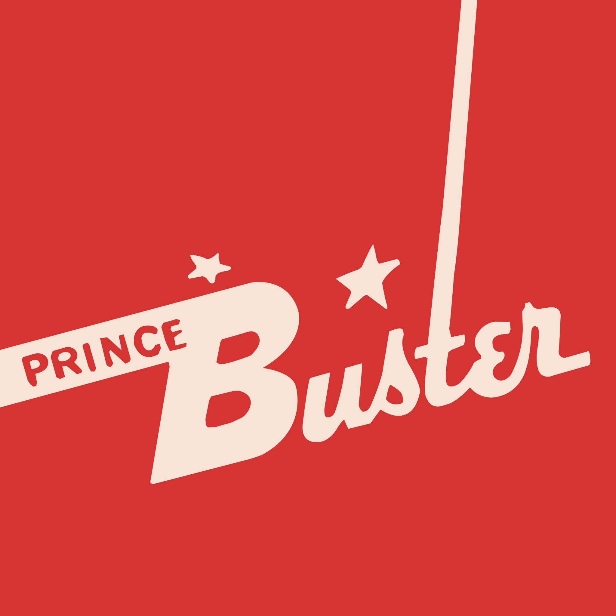 Prince Buster logo illustration