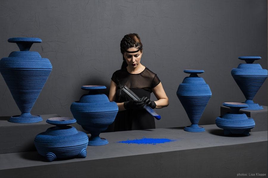 Blue Alchemy by Siba Sahabi