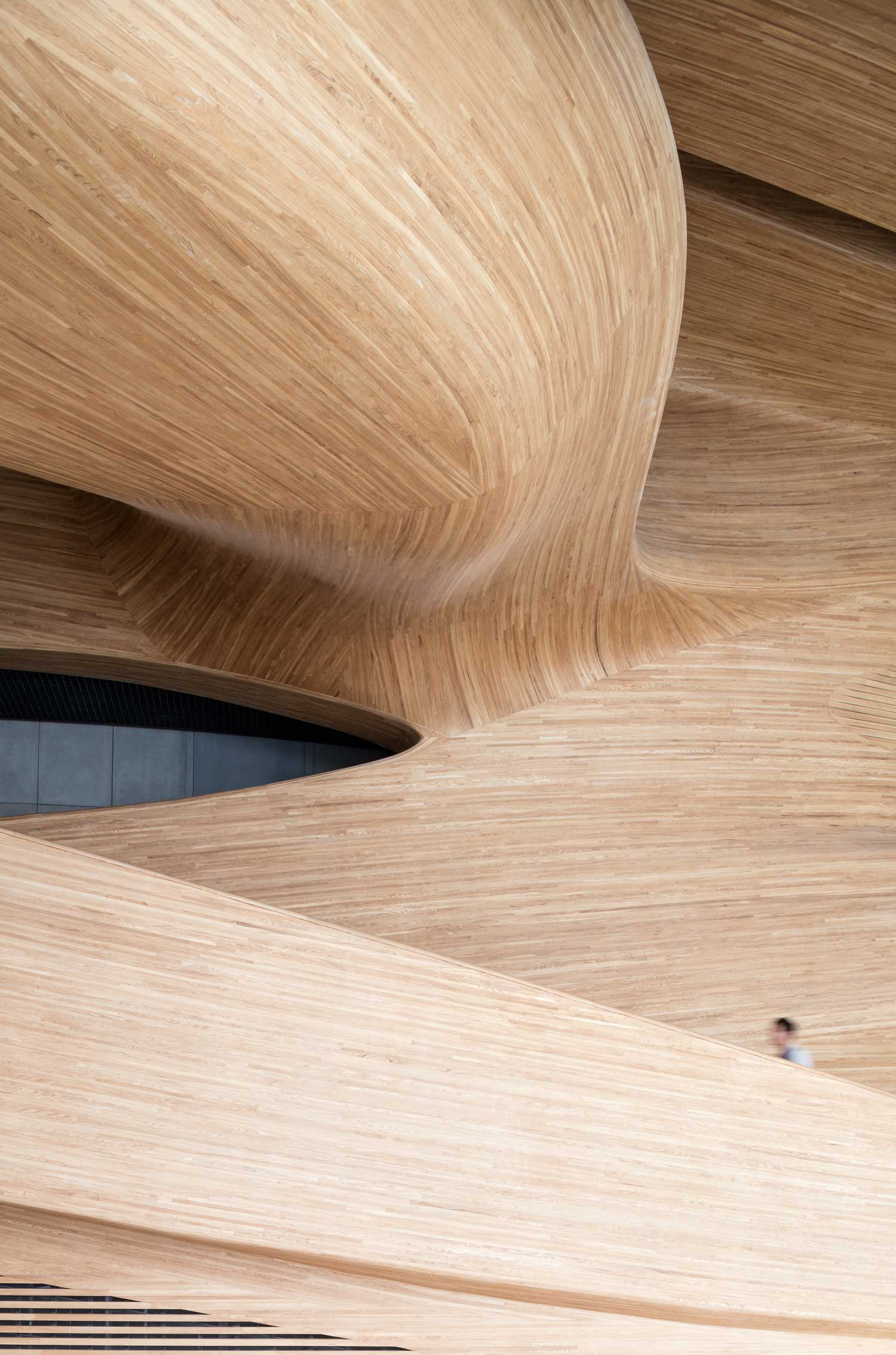 Amazing wooden interior like a boat