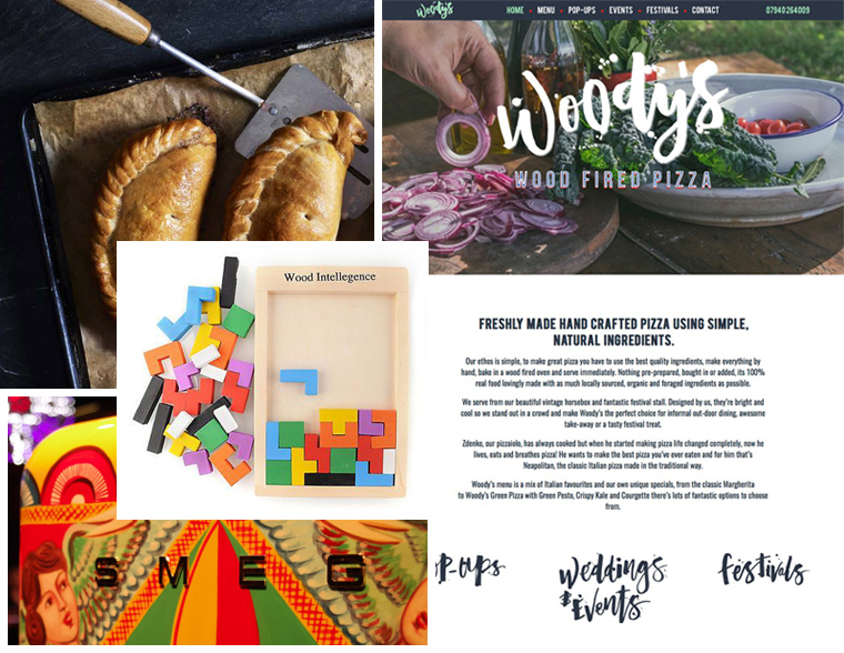 In February's newsletter the Cornish pasty, Woody's web design, wooden Tetris toy and the Smeg fridge