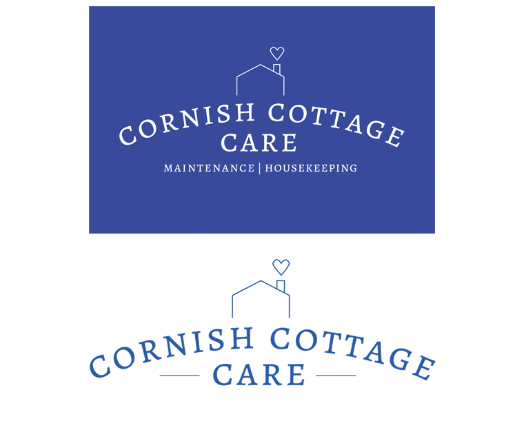 Cornish Cottage Care branding