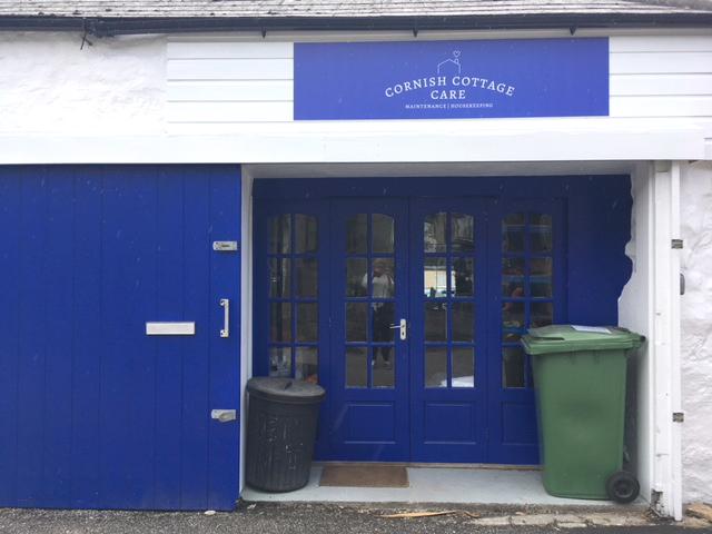 Signage design for Cornish Cottage Care