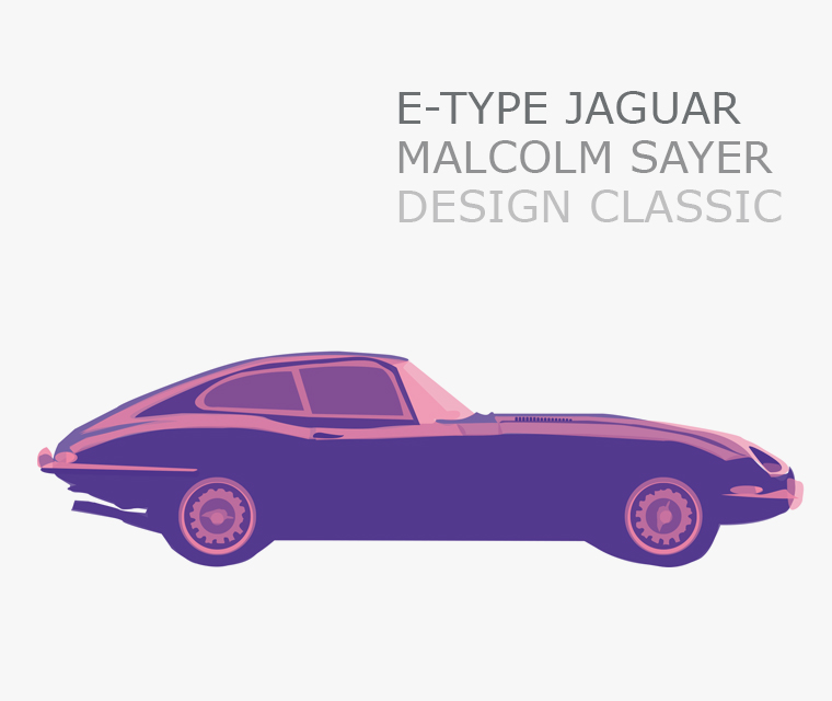 The E-Type Jaguar Design Classic
