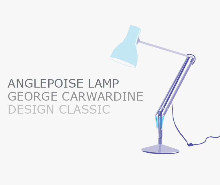 The Anglepoise lamp design classic