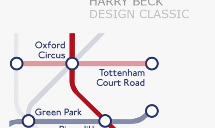 The London Tube Map design classic