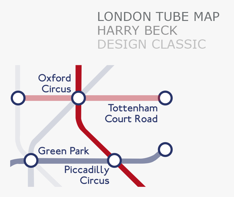 The London Tube Map design classic