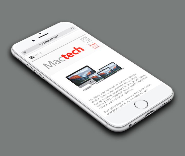 MacTech mobile website