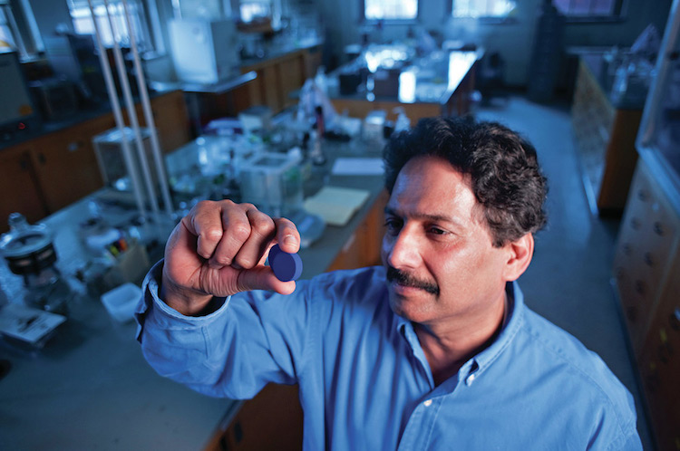 The scientist who discovered the new blue