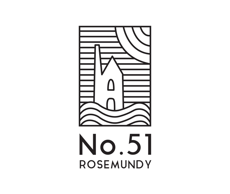 No.51 Rosemundy logo design