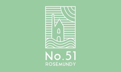 Logo design for No. 51 Rosemundy holiday accommodation