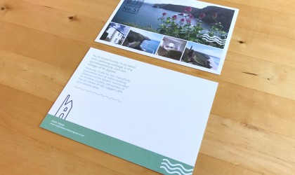 A6 flyer for holiday cottage No. 51 Rosemundy
