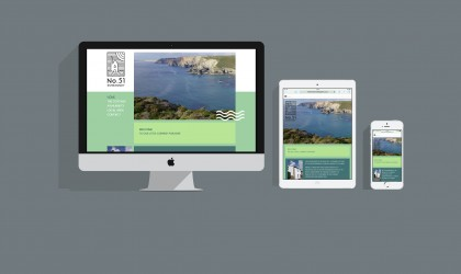 Responsive and mobile friendly web design for No.51 Rosemundy Cottage