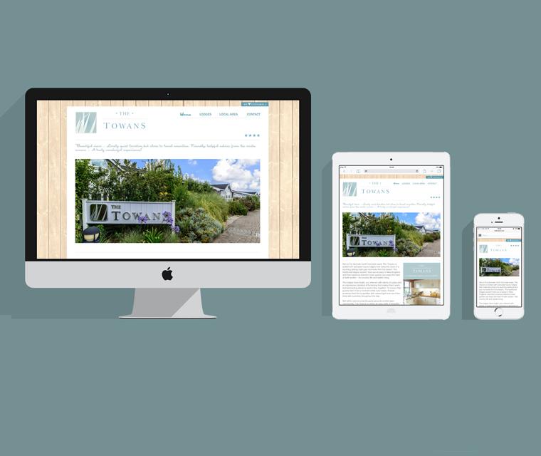 The Towans mobile friendly web design