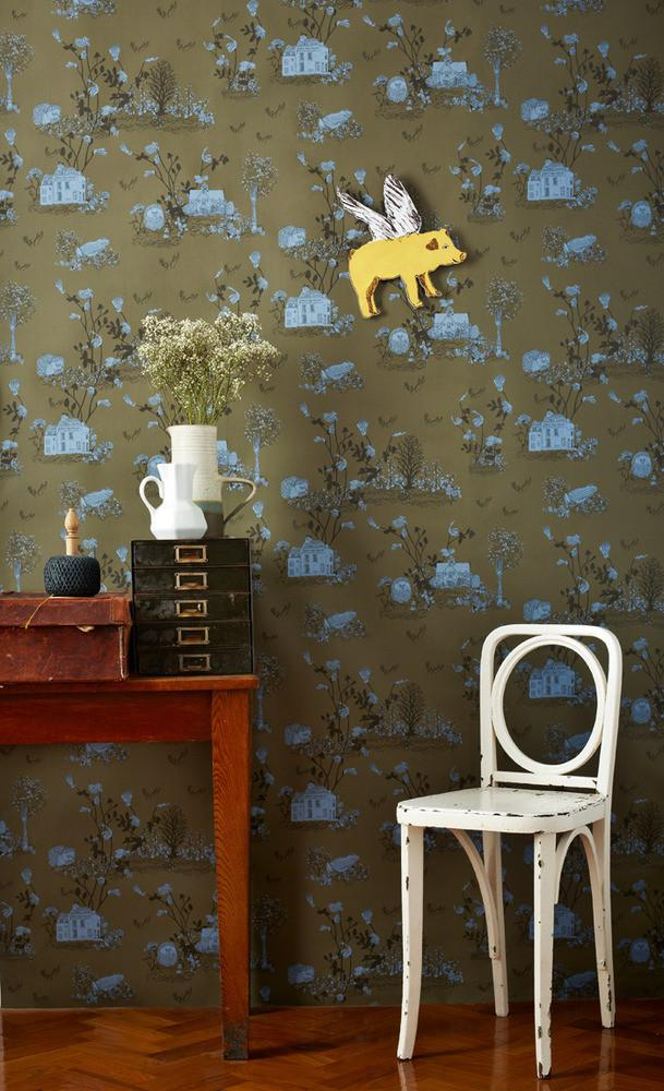 Sian Zeng magnetic wallpaper for kids rooms