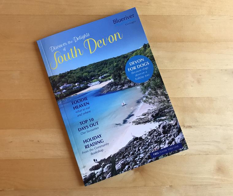 Blueriver Cottages Magazine cover