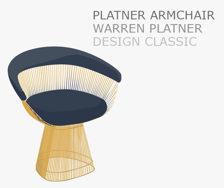 Platner Armchair a Pickle Design Classic