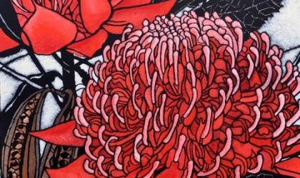 Julie Hickson Australian stencil artist