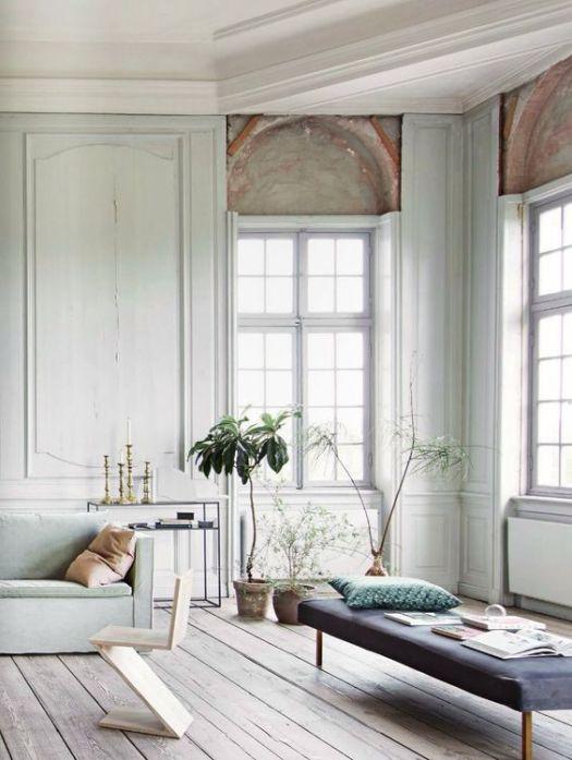 soft and subtle colour scheme for interiors