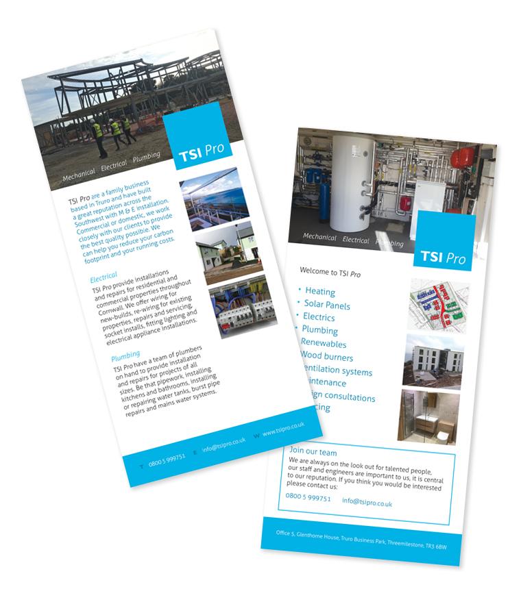 TSI Pro DL leaflets