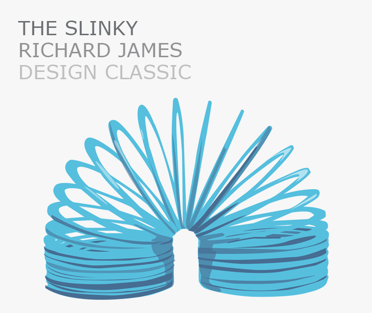April design classic the slinky toy