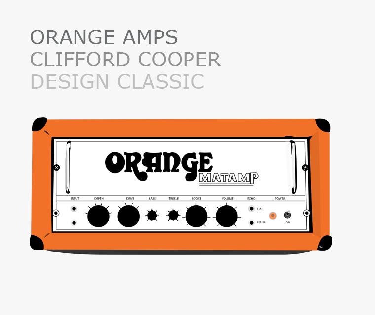 Orange amps design classic