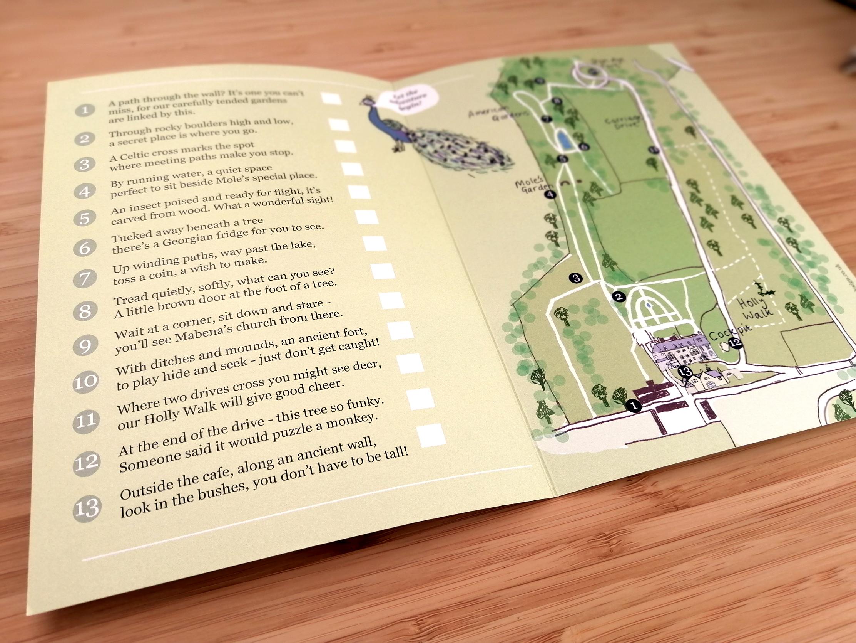 Pencarrow Garden Trail Leaflet