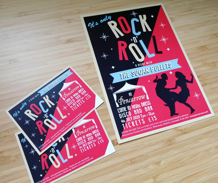 Pencarrow events Rock and Roll Dance