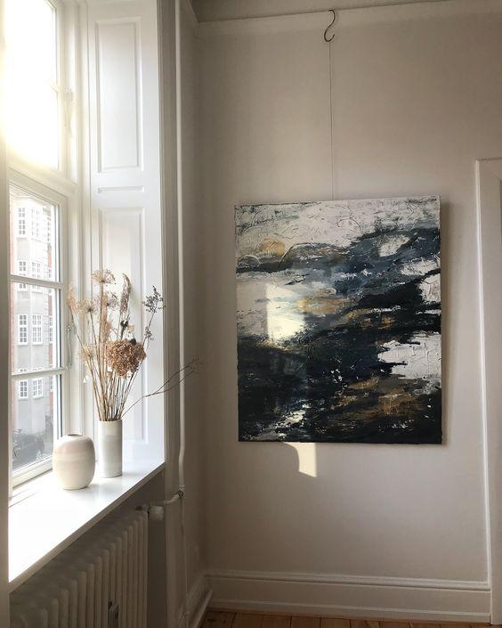 Irene de Klerk Wolters abstract art with dappled light