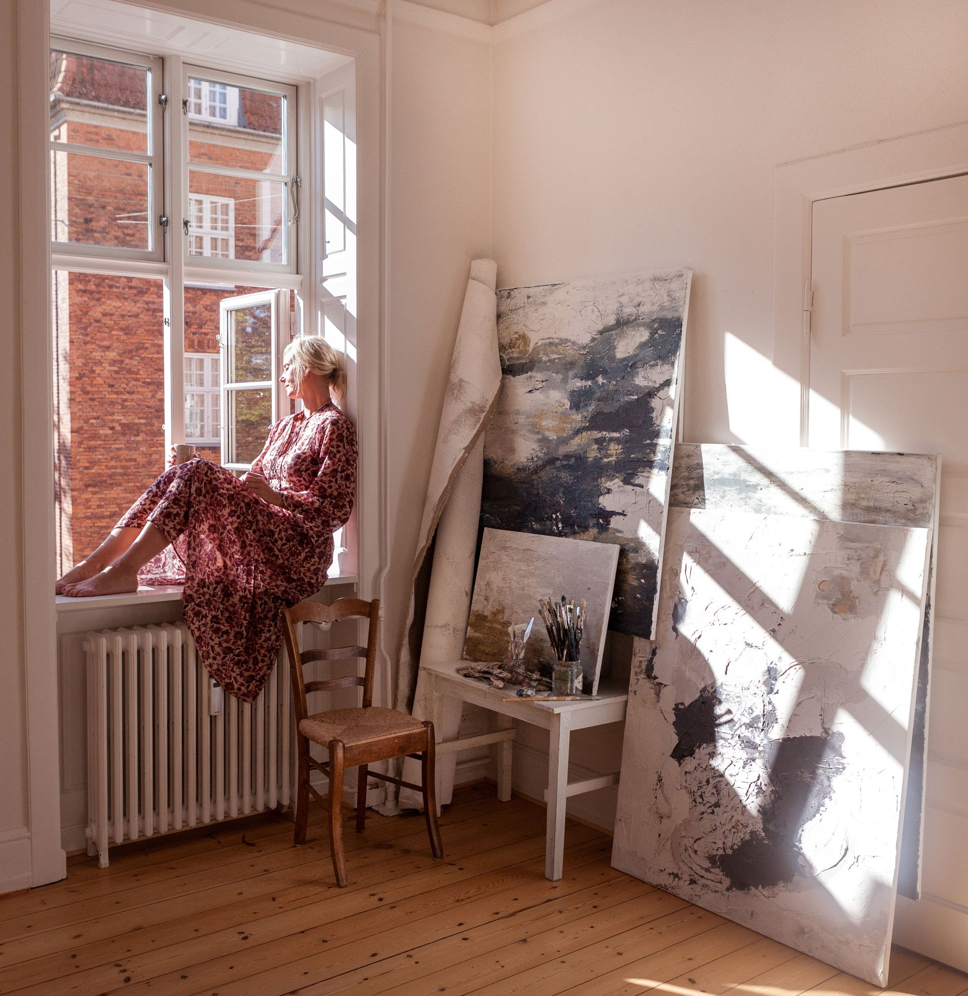 Irene de Klerk Wolters abstract artist