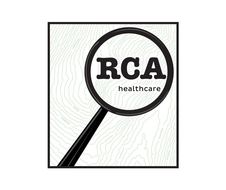 Logo design for RCA Health Care