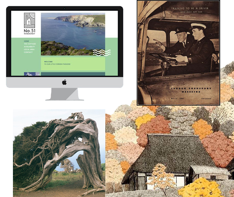 Our December newsletter features the juniper tree, the routemaster bus, web design and Japanese etching