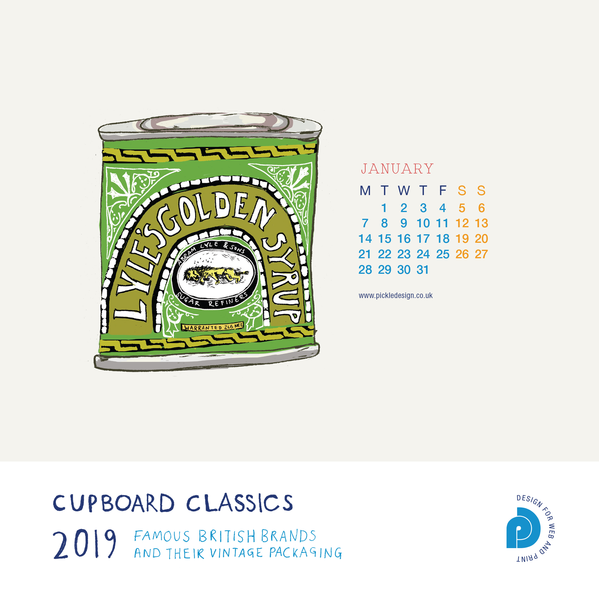 Our January 2019 Calendar Download Of British Trees