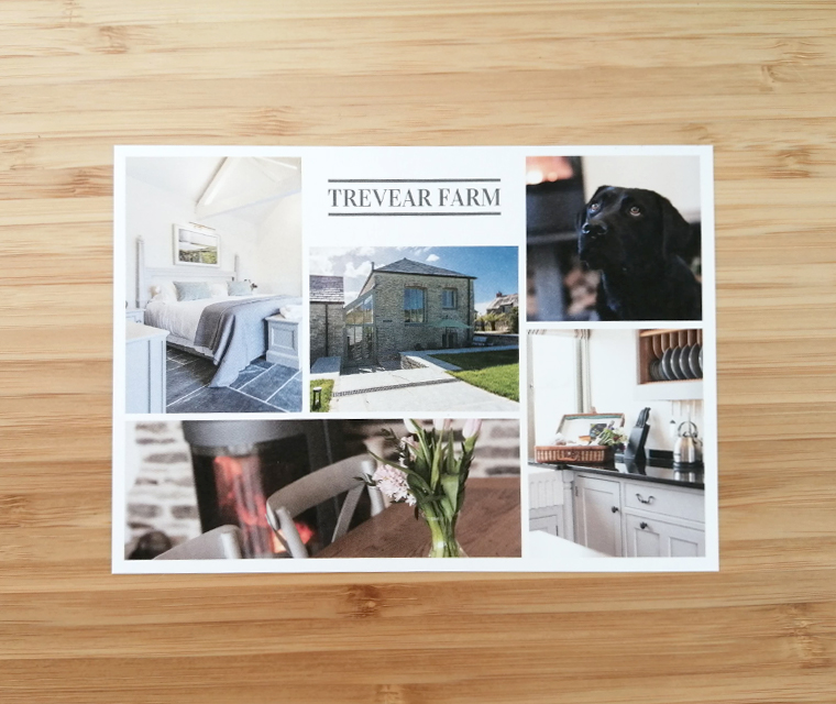 Trevear Farm A6 leaflet to welcome guests