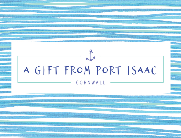 Label design for Port Isaac based sweet shop Harbour Treats