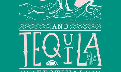 Poster design for the Wadebridge Wines Rum and Tequila festival