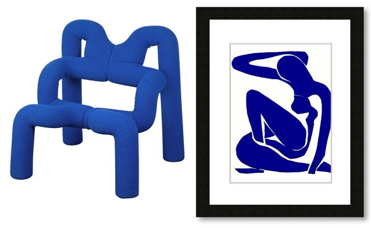 Ekstrom Chair with Matisse nude