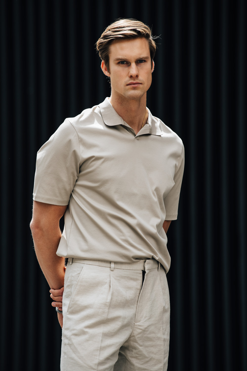 Preppy look for men