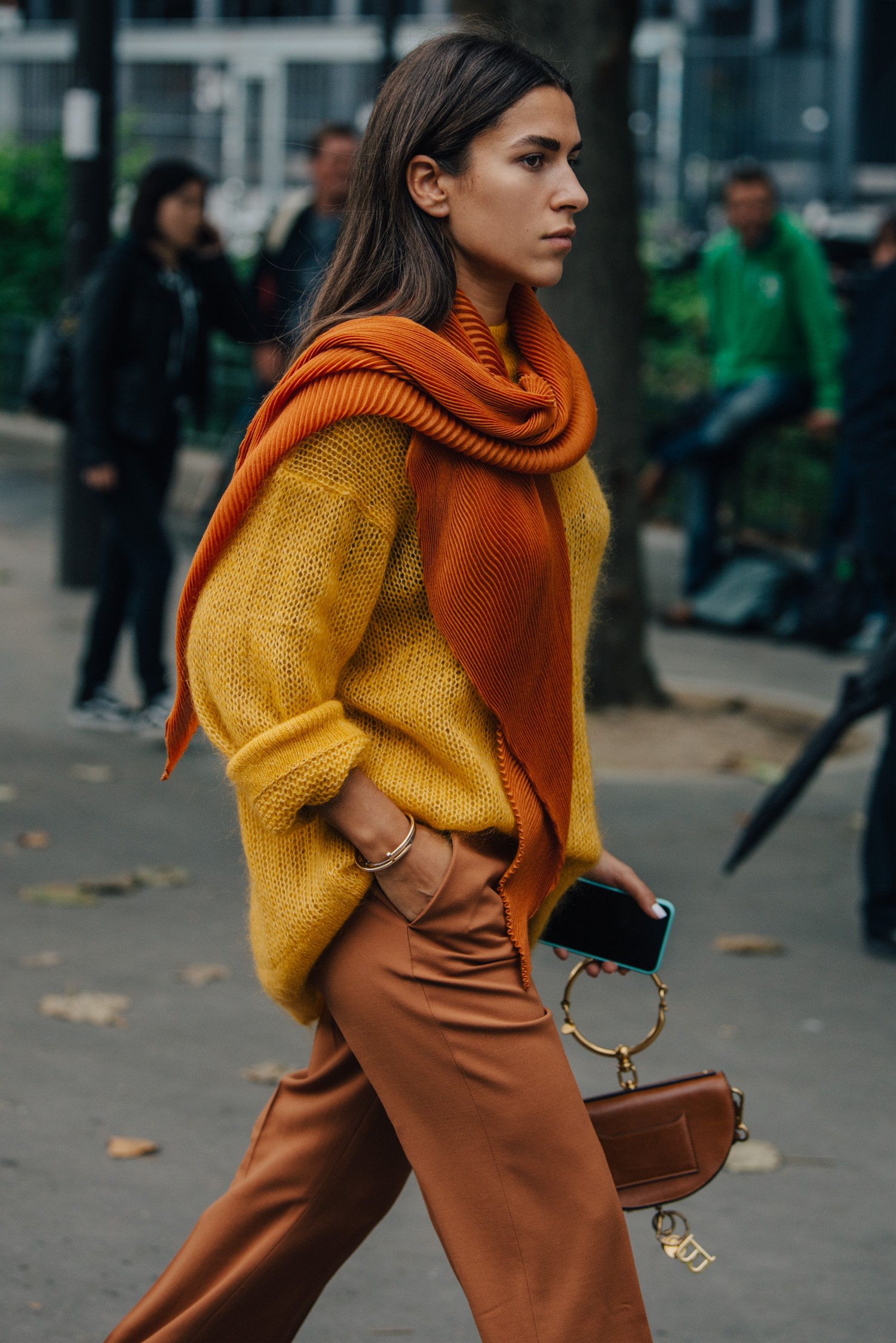 Slouchy soft warm layers