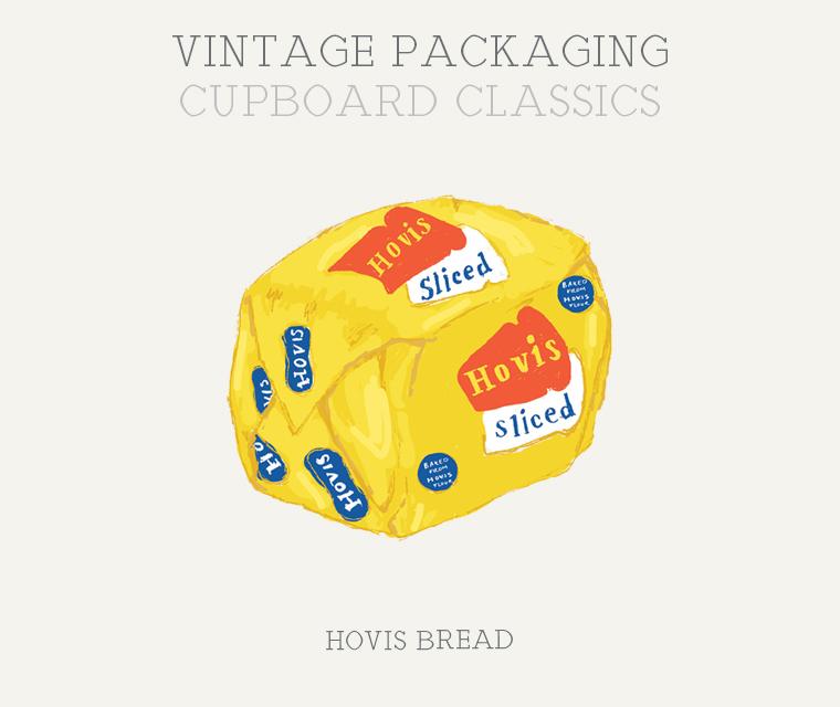 Hovis vintage packaging