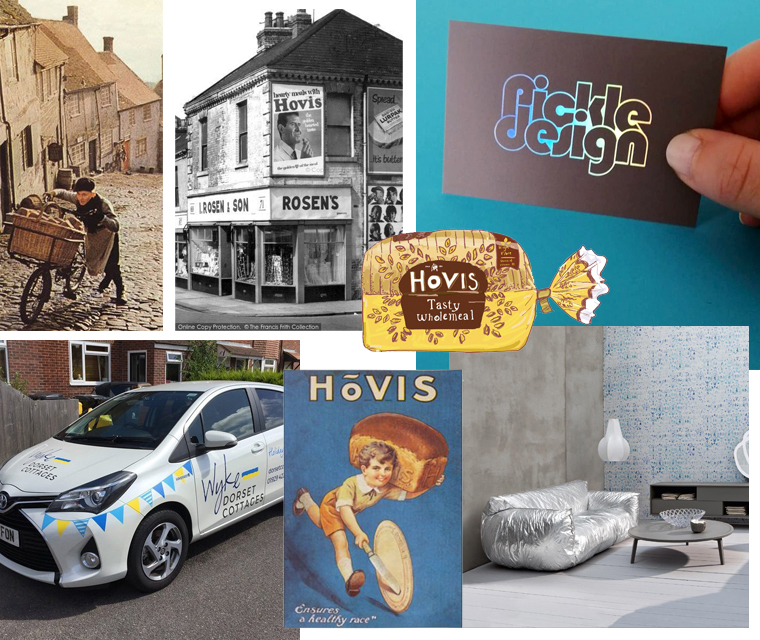 In the September newsletter, hovis, signage and holographic business cards