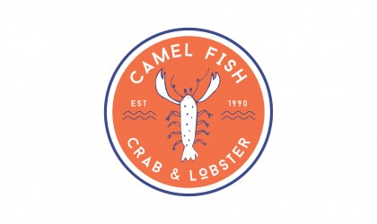 The Camel Fish logo by Pickle Design