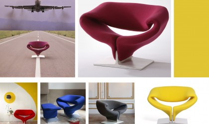 The Ribbon Chair a Design Classic by Pierre Paulin