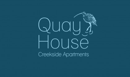 Logo design for Quay House Creekside Apartments near Padstow