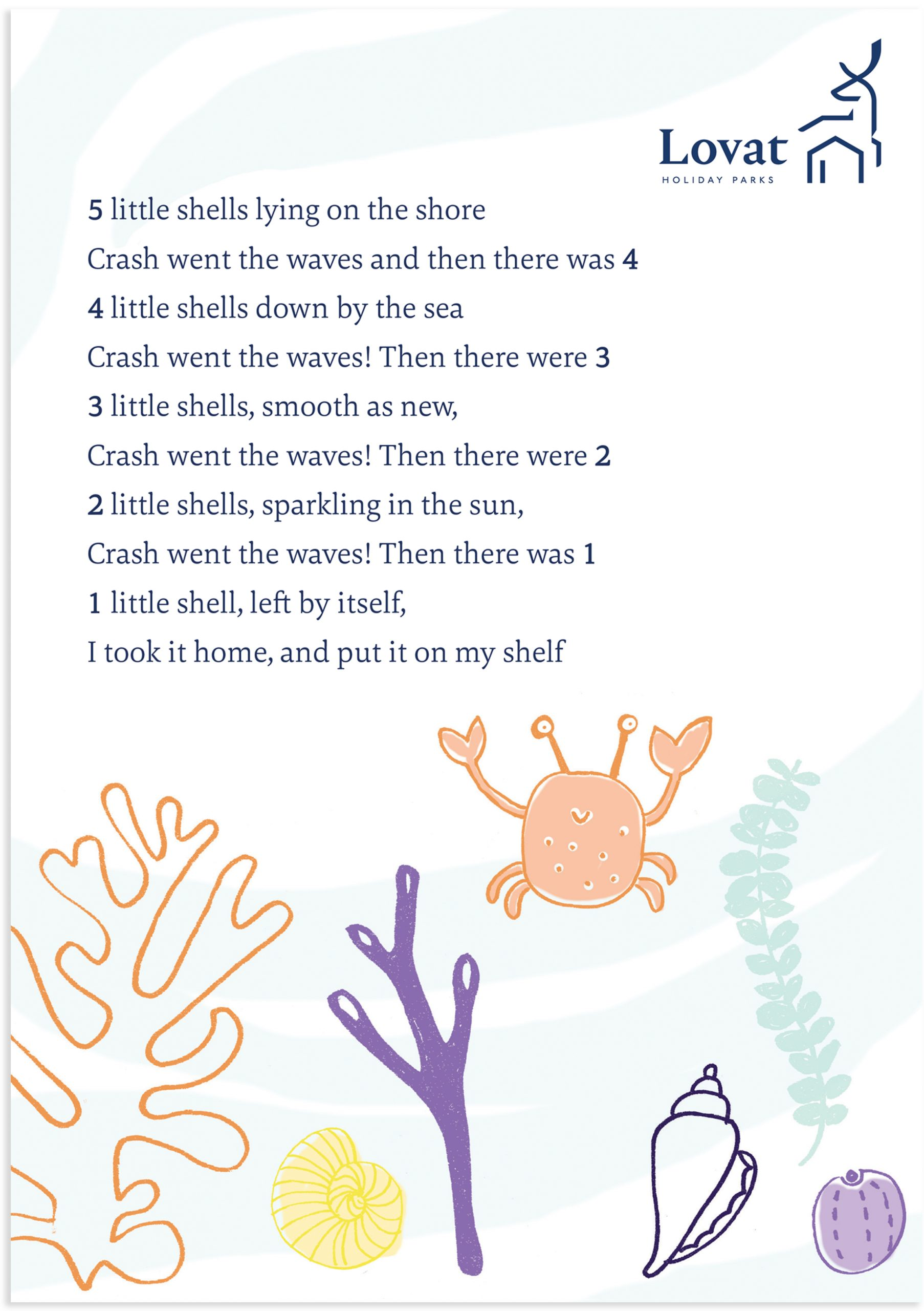 Nursery Rhyme Sign for Mother and Baby Room