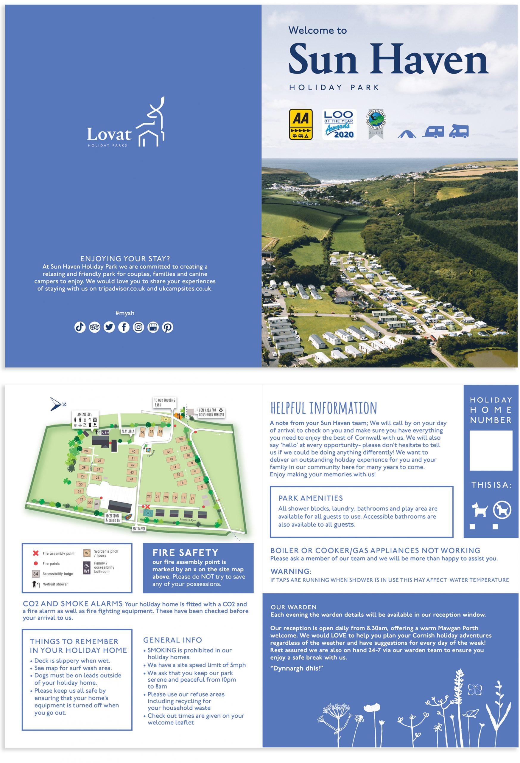 Holiday Park Helpful Information Leaflet