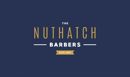 The Nut Hatch Barbers Logo
