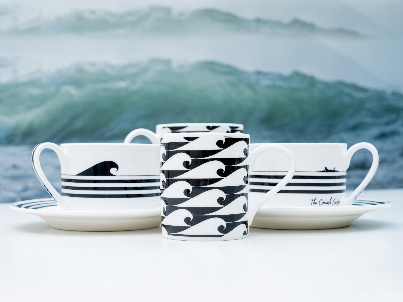 The Cornish Surfer pattern design