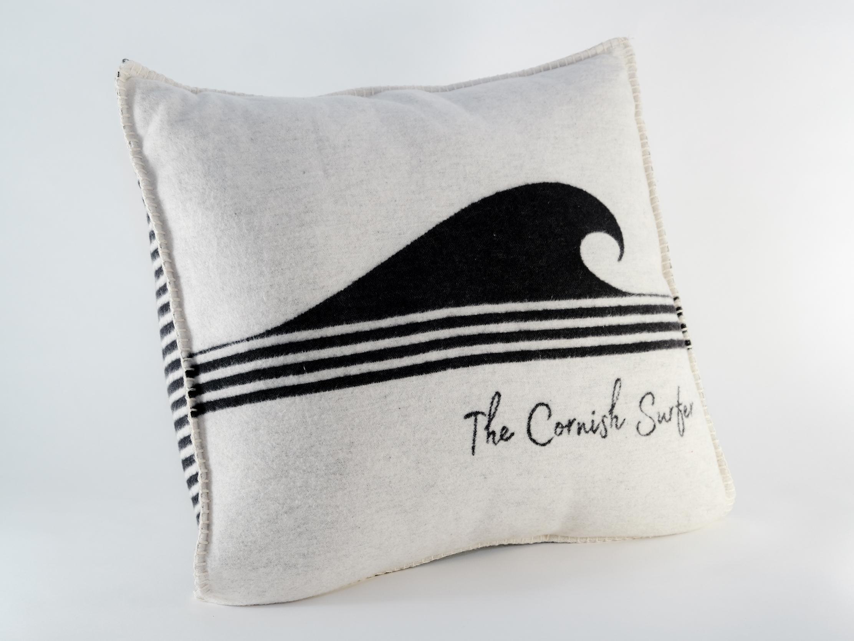 The Cornish Surfer cushion