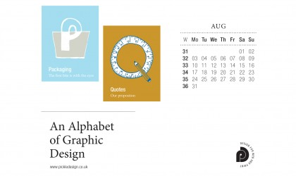 Download our August calendar featuring artwork for Packaging and Quotes