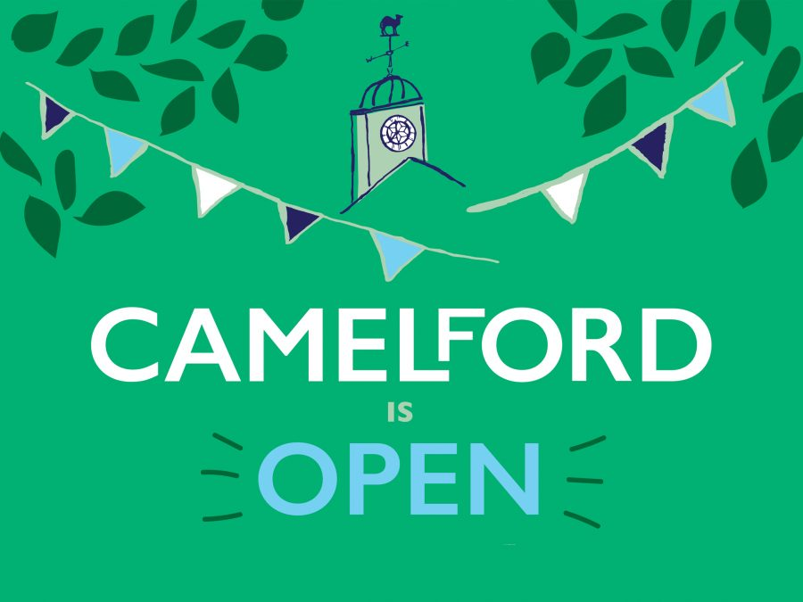 Promotion for Camelford by Pickle Design
